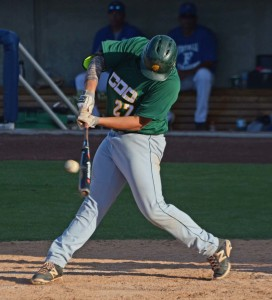 Nick Ames slams a double for CDO